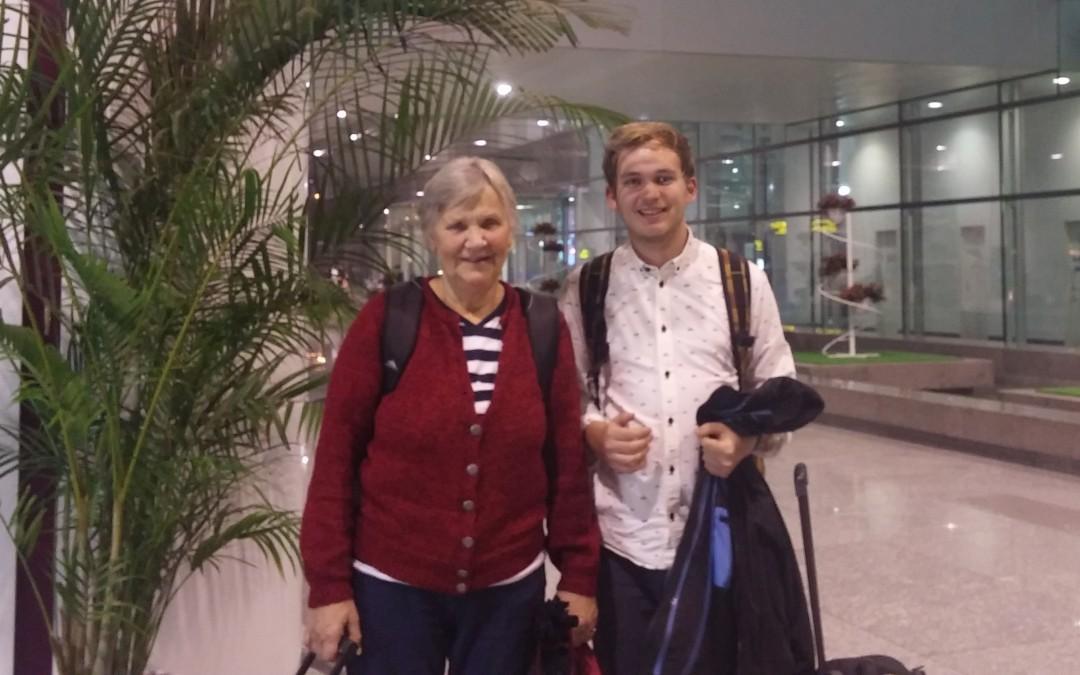 Rejsen til Vietnam: Vi er på vej! (og fremme)