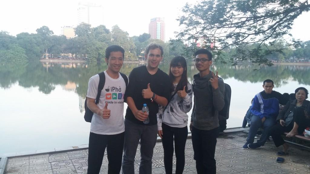 unge vietnamesere og mig