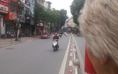 Hanoi dag 2 – nu ruller vi!