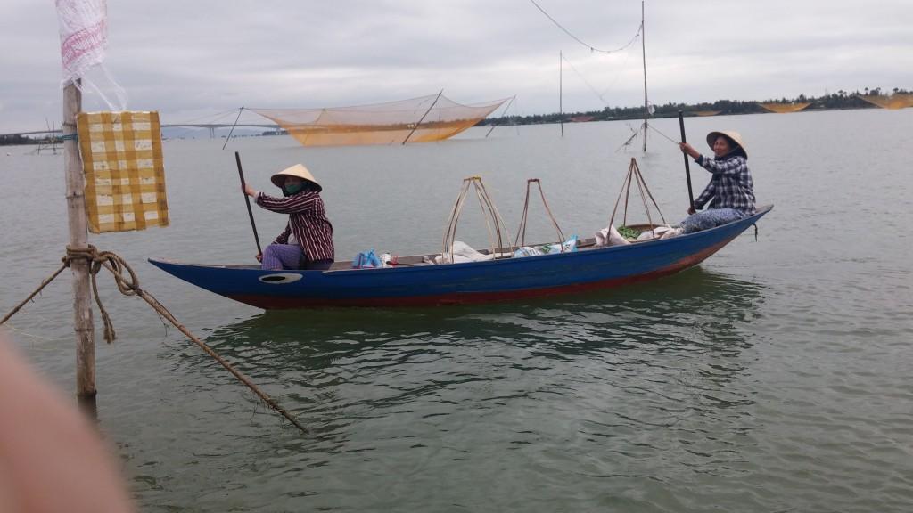 gammeldags fiskning i hoi an