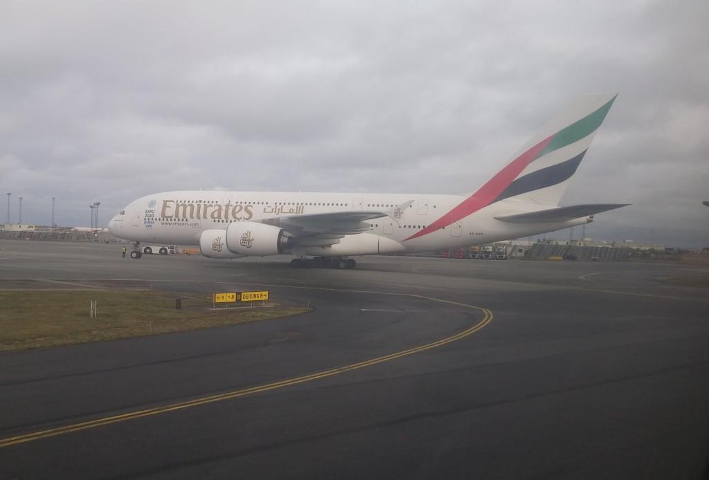 verdens største fly fra dubai