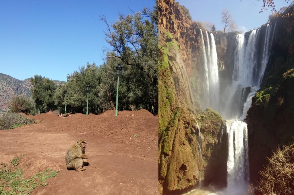 cascad ozoud vandfald marrokko berber abe