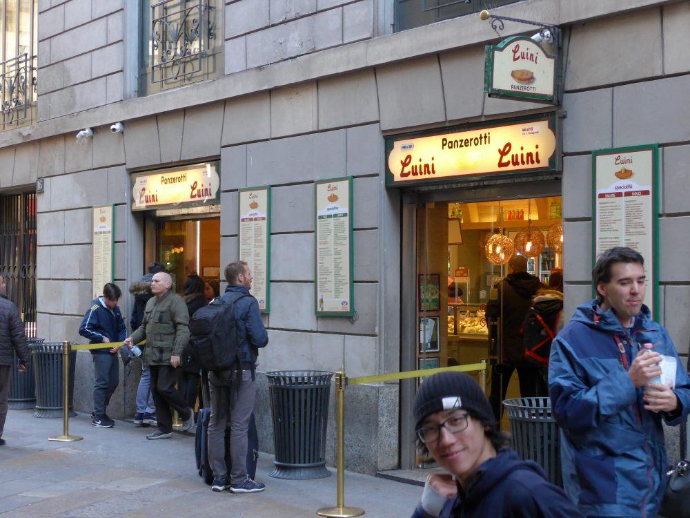 luini bager - bedste restaurant milano
