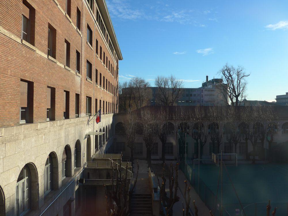 udsigten fra hostel i milano