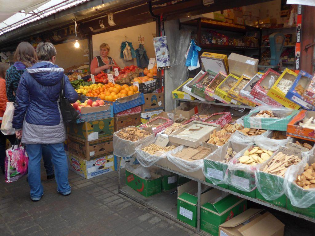 Lviv rejse marked
