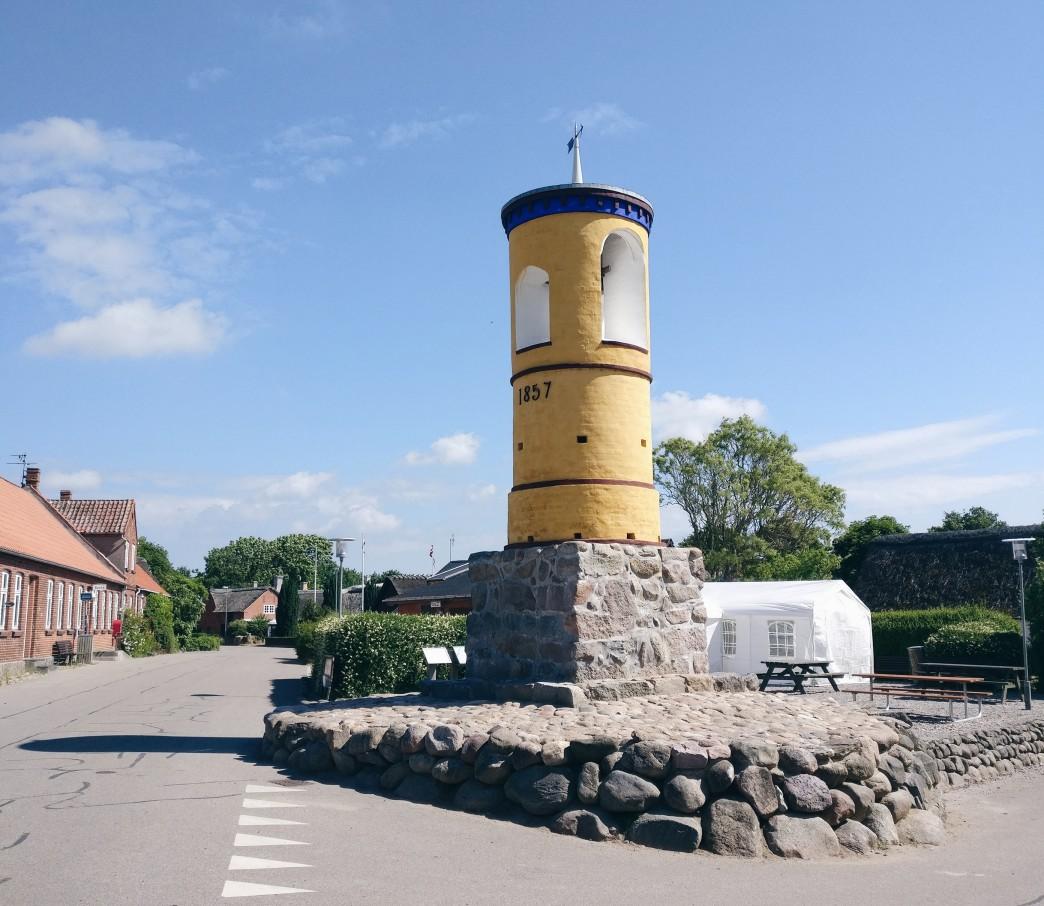 Klokketårnet i Nordby